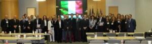 Foto di Gruppo Conclusione Lavori VIII Conferenza Ricercatori Italiani nel Mondo - Houston 2012.