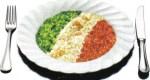 risotto tricolore