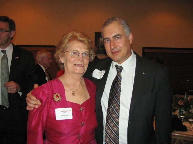 Vincenzo Arcobelli e Clara Vick